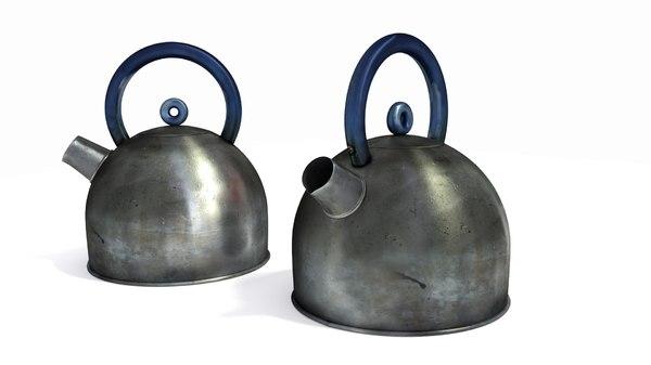 3d model kettle ikea dirty
