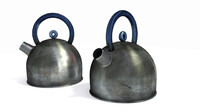3d model kettle ikea dirty