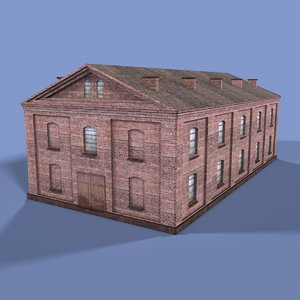 warehouse 3d model