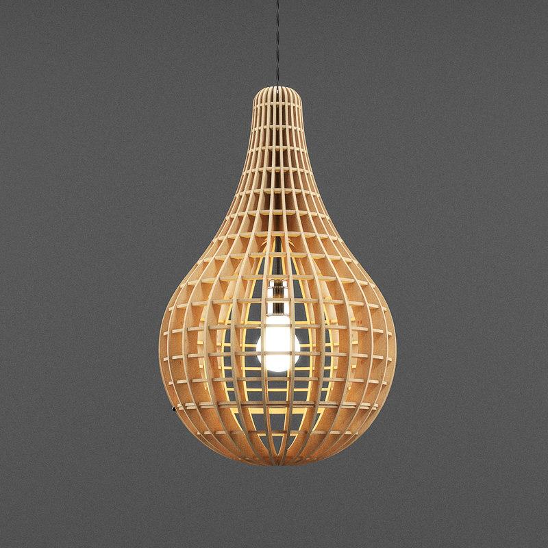 wooden lamp light max