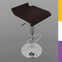 3dsmax stool office chair