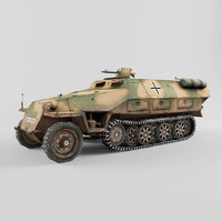 sd kfz 251 3d 3ds