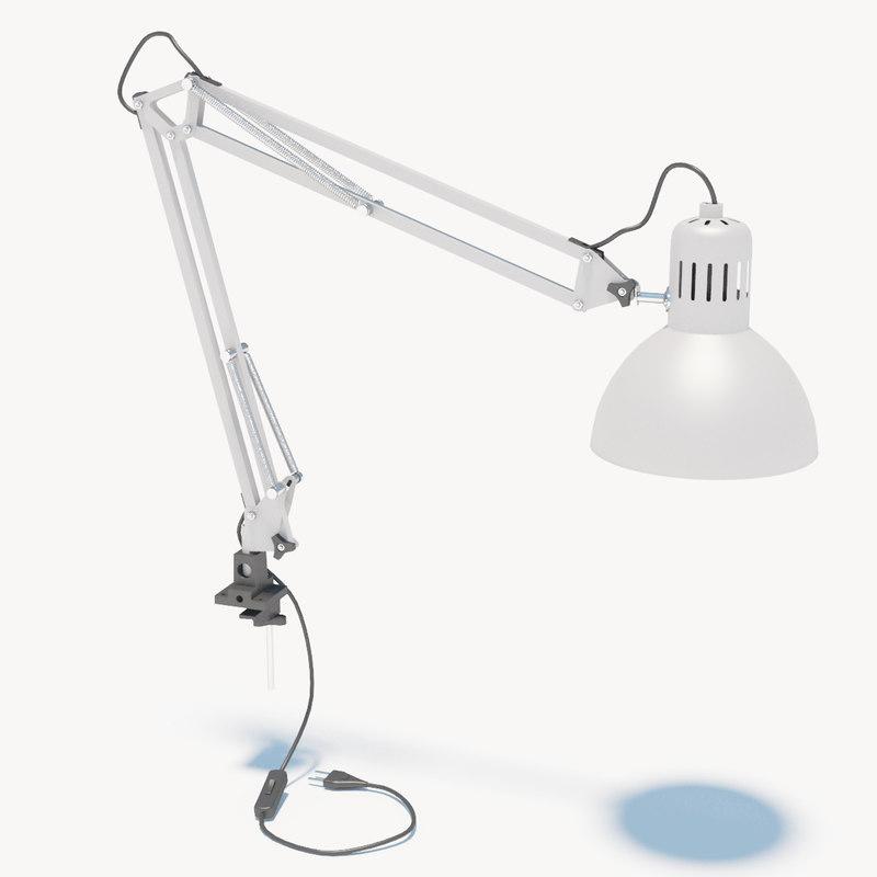3d model ikea lamp