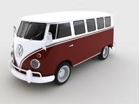 volkswagen t1 deluxe 3ds