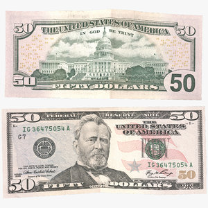 max 50 dollar bill