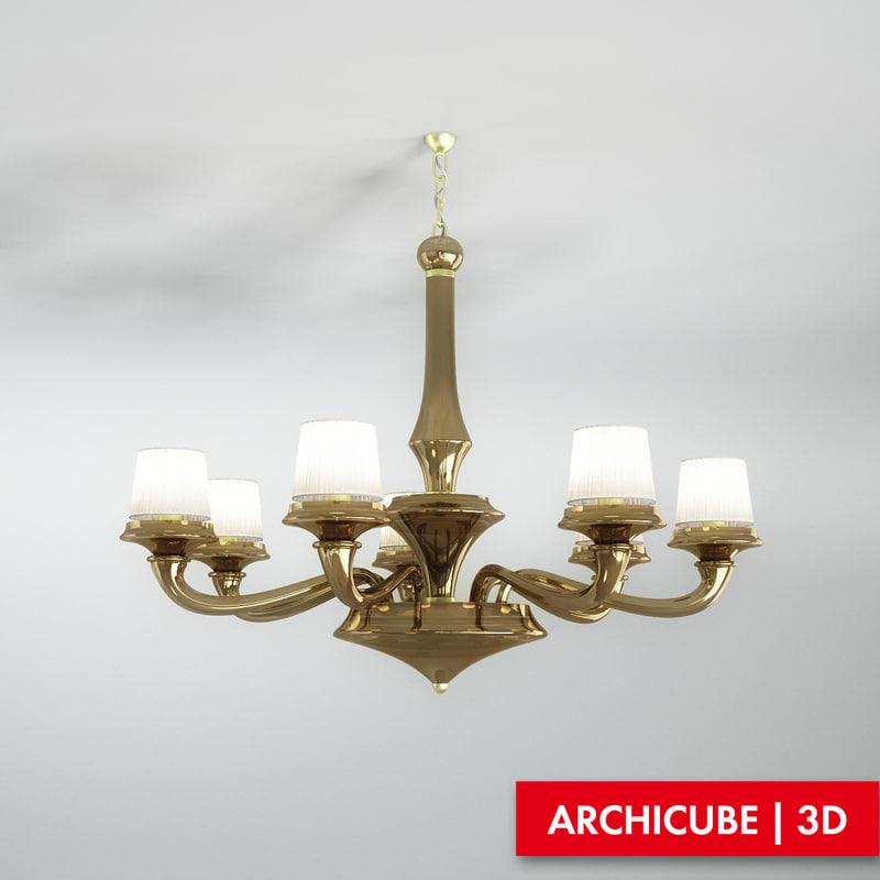 ceiling lamp obj