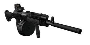 3d custom ak-47