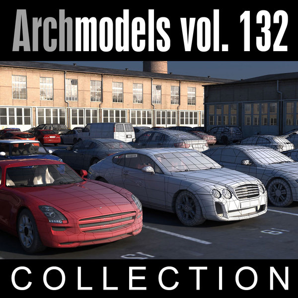 3ds max archmodels vol 132 cars