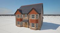 story house hanging tiles 3d model
