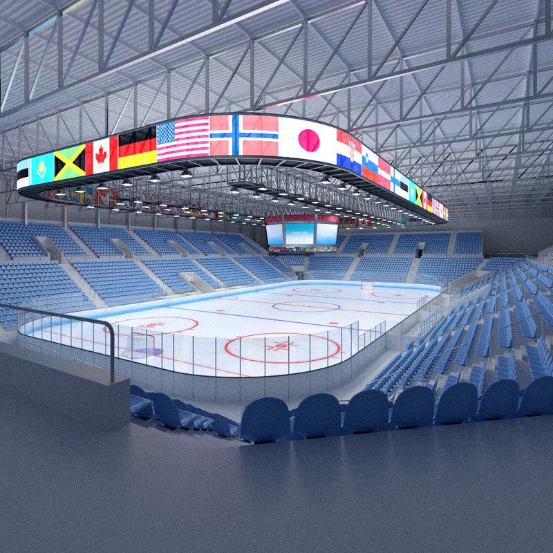 max ice hockey arena