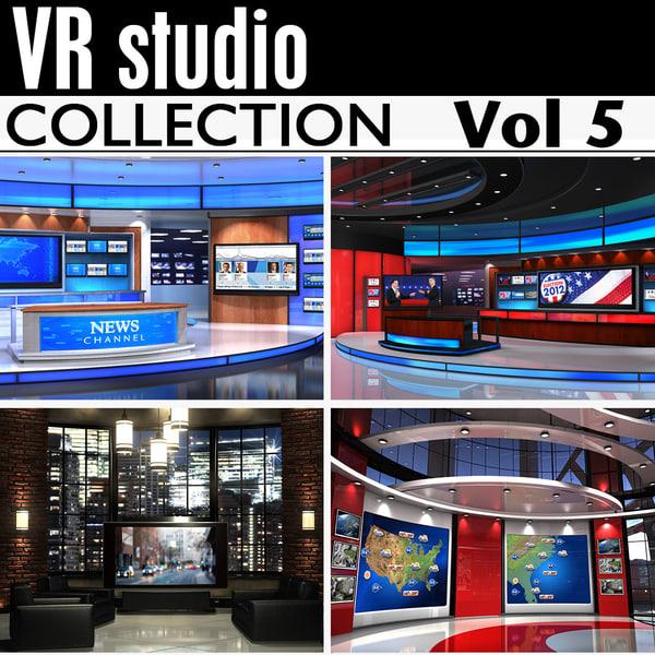 news studios collections obj