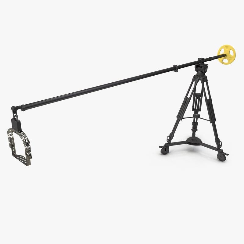 3ds max camera crane