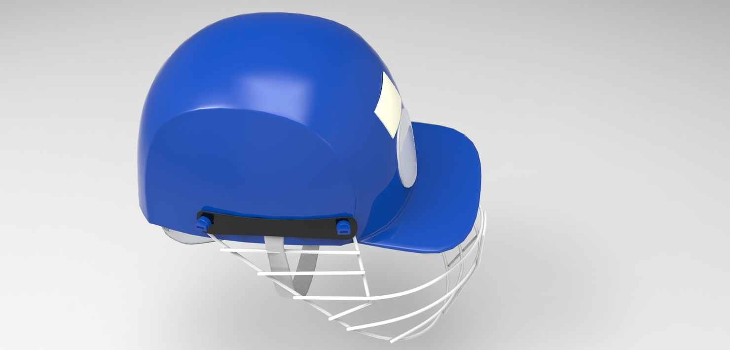 3d max cricket helmet