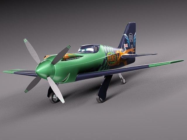 sport character disney ripslinger 3d model