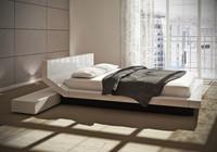 contemporary bed lipla porro 3d model