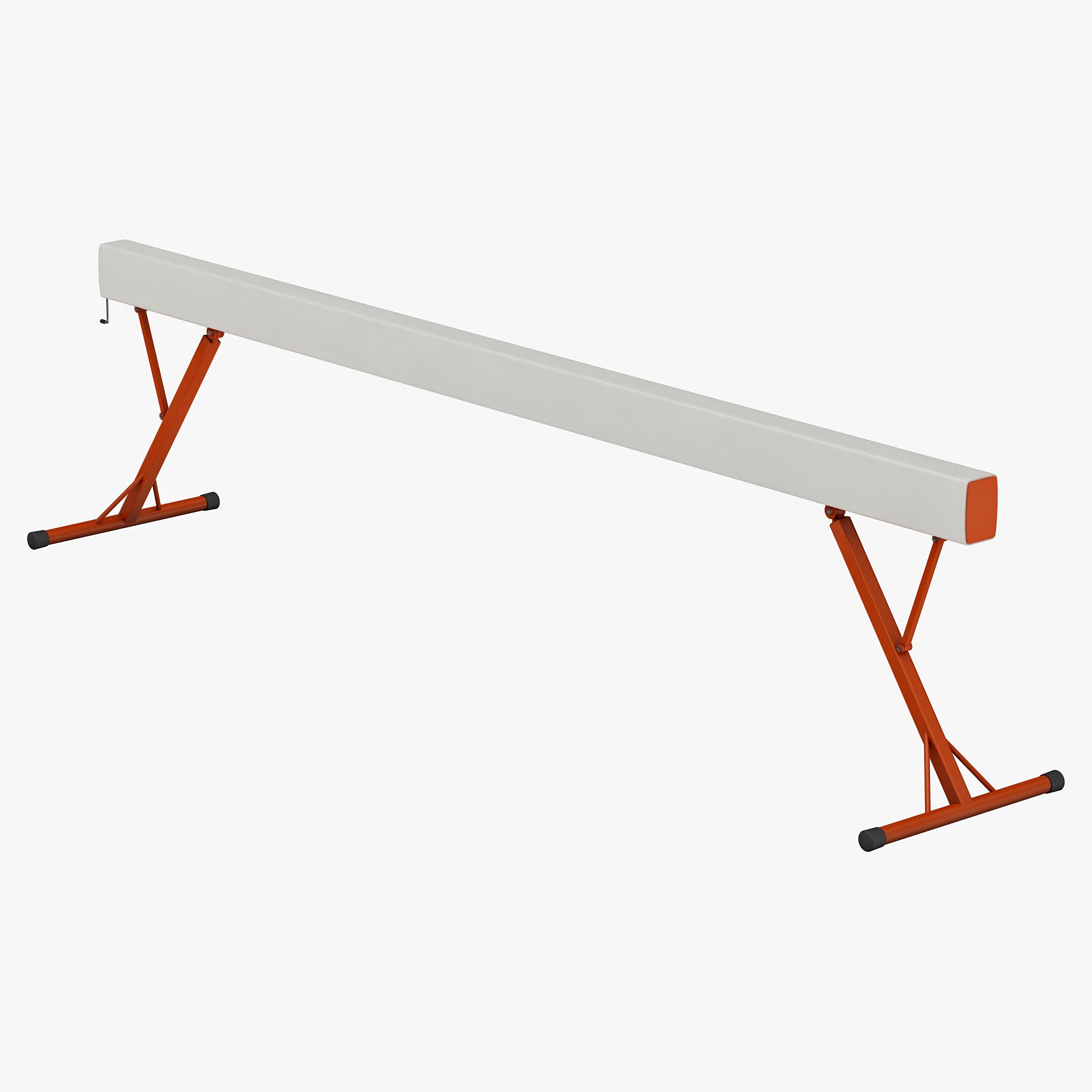 3d model gymnastics balance beam
