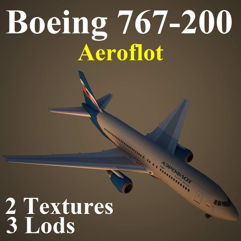 max boeing 767-200 afl