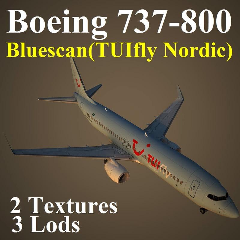 boeing 737-800 blx 3d model