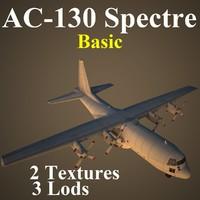 ac-130 spectre basic max