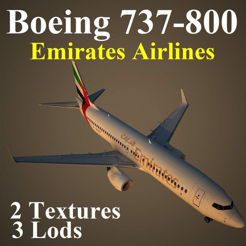 max boeing 737-800 uae