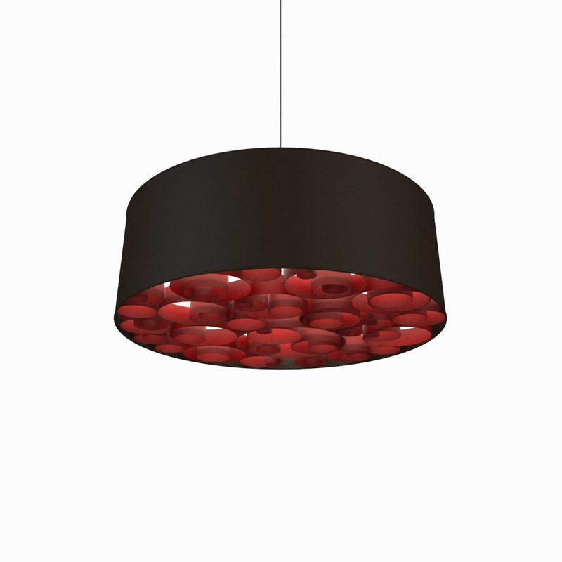 3d lighting fixture model