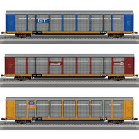 Train Cars / Autoracks Model Pack