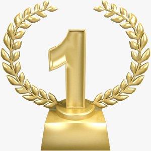 place trophy 1 1st obj