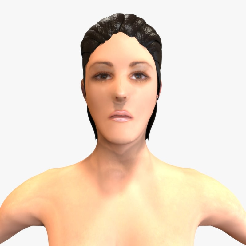 human female 3d 3ds