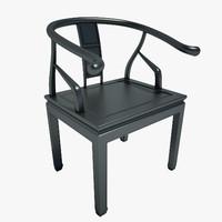 Wooden Chair 01