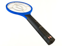 mosquito racket zapper 3d model