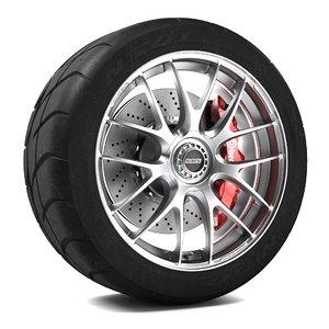 3dsmax volk racing g27 wheel