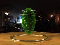 emerald 3d model