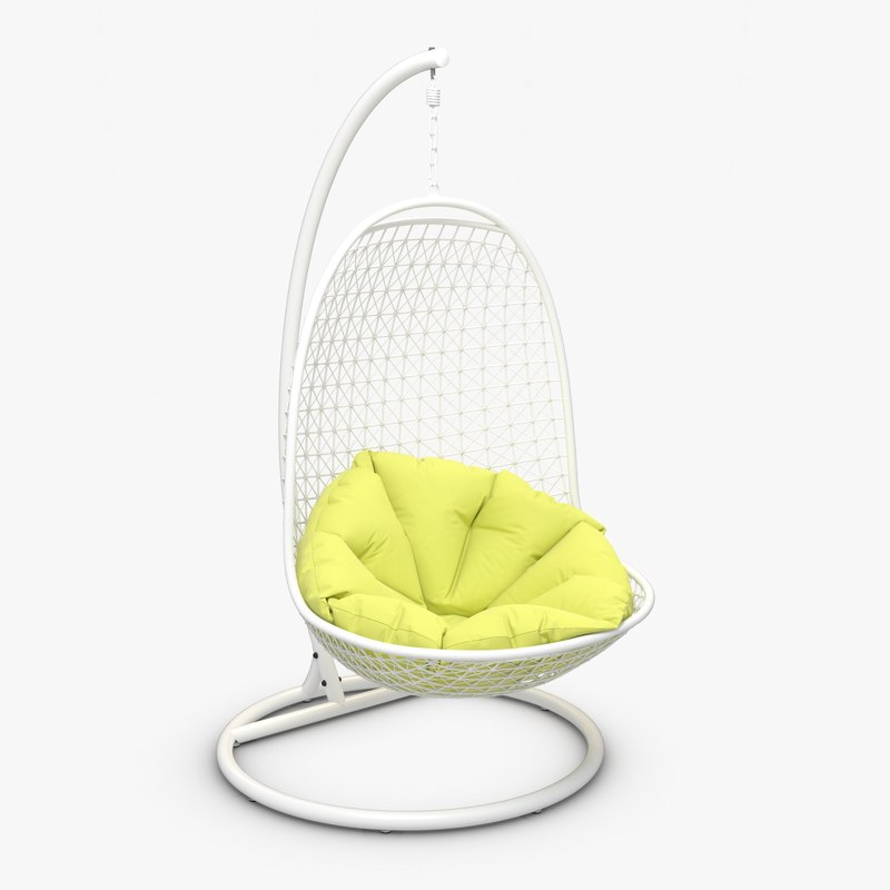 3d lounge swing chair