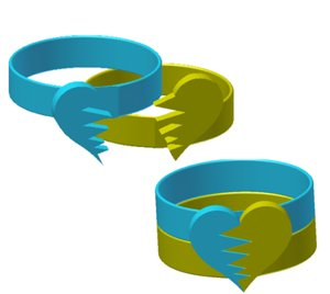 3ds max rings