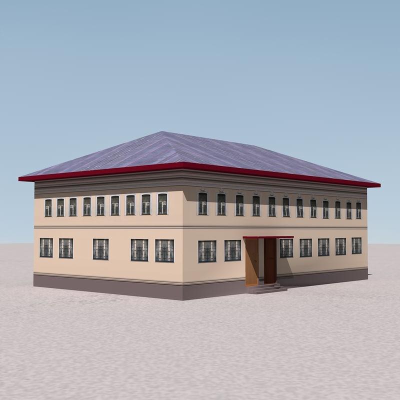 building games 3d model