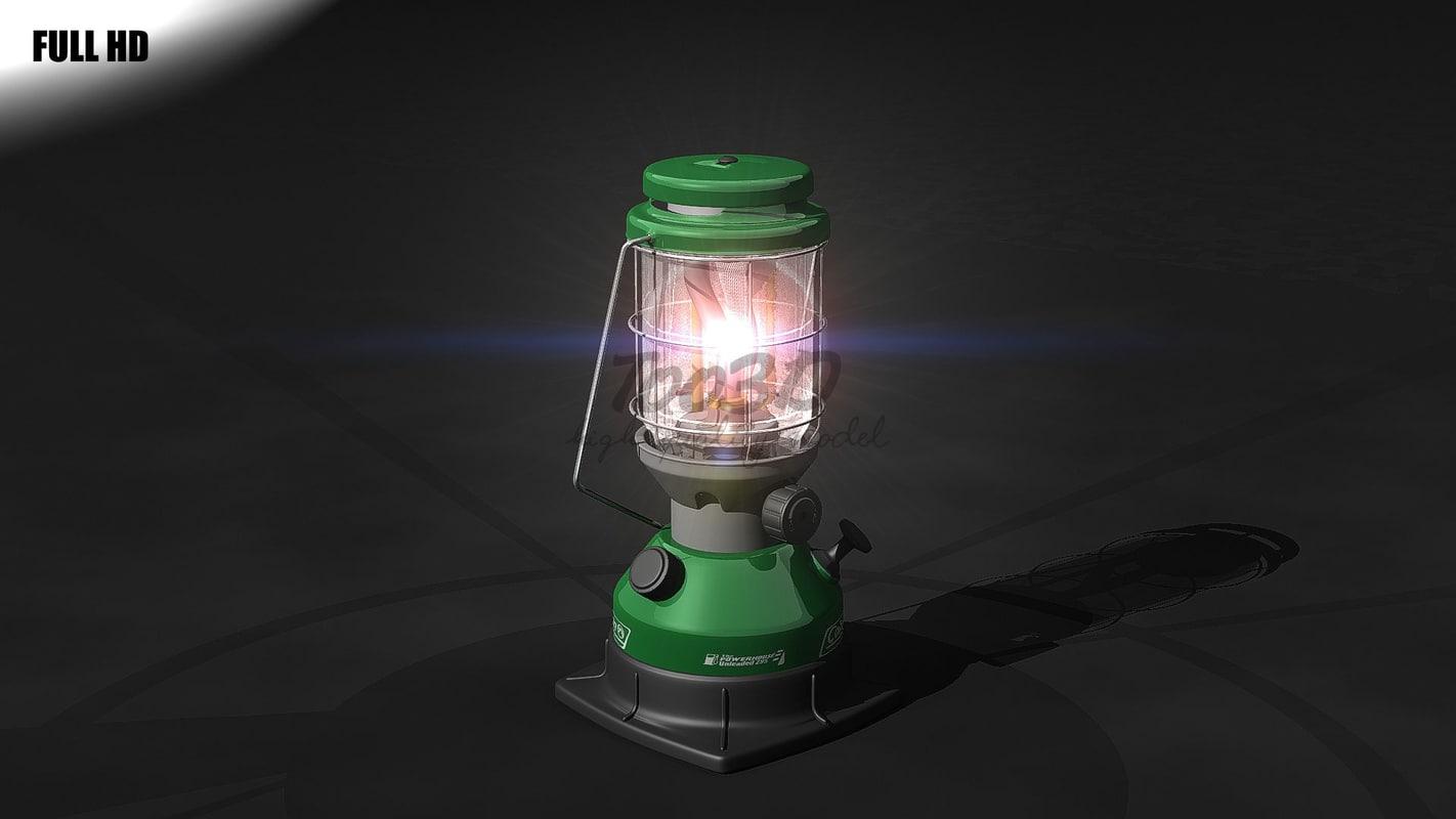 3d lantern lamp