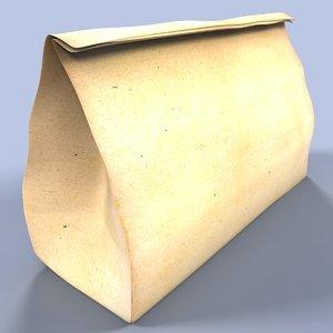 paper bag 3d max