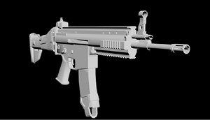 3d scar light model
