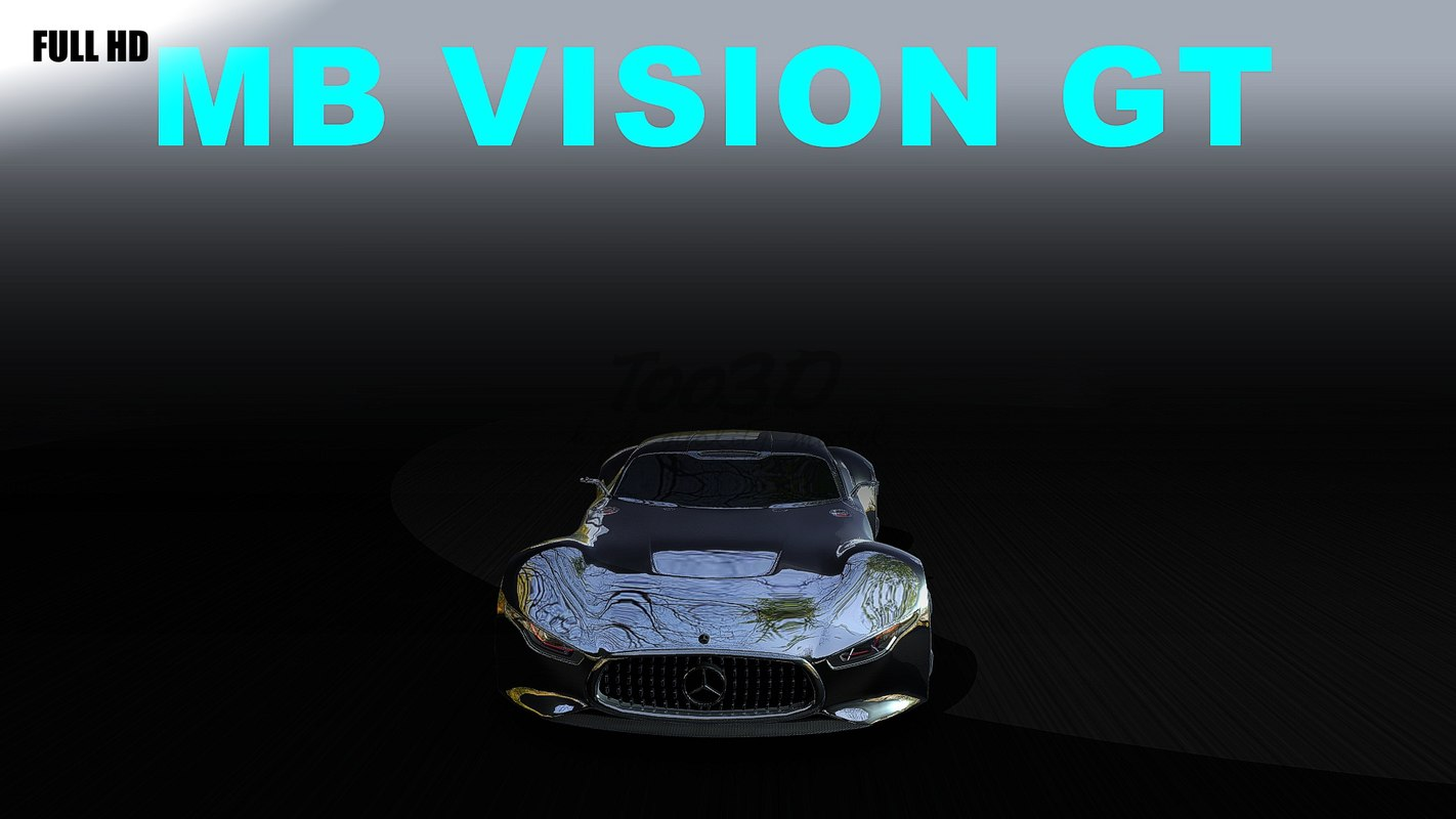 3d model of vision gt
