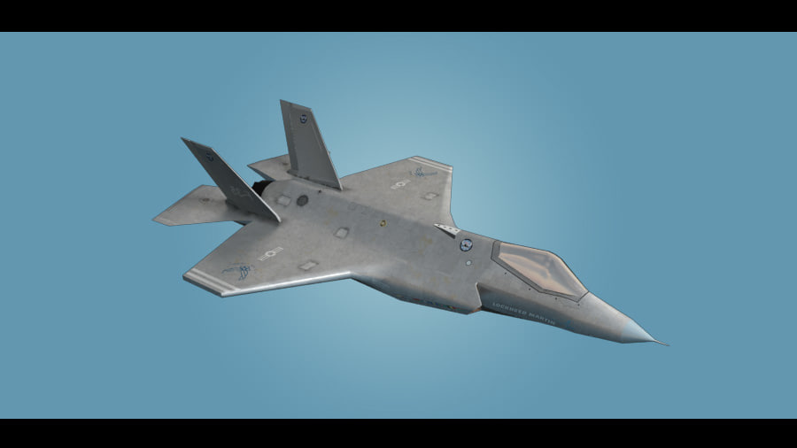 3ds f-35 jet fighter