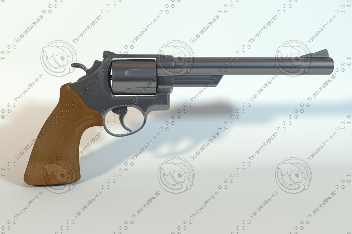 3d 44 magnum model