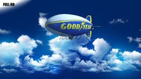 3dsmax zeppelin goodyear blimp