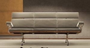 3ds max modern sofa - herman miller