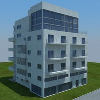 buildings 7 3d max