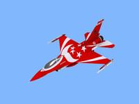 RSAF F16 Black Knights