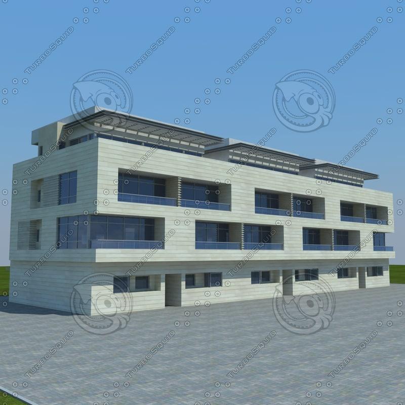 3d model of buildings 2 6