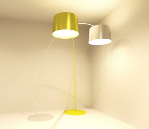 3d lighting design model