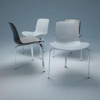 3d pk8 chair model
