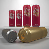 Beer can 500 ml 1000 ml
