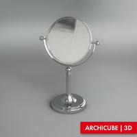 3d vanity mirror model